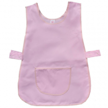 Basic Pink Tough Cotton/ Polyester Apron Tabard