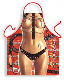 S&M Whips and Chains Ladies Rude Apron