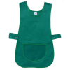 Green Durable Tabard Apron With Green Lining