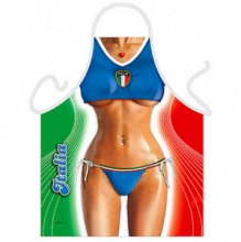 Italian Beach Volleyball Beauty Sexy Apron