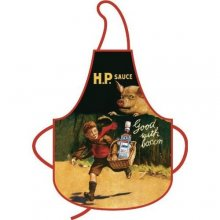 HP Sauce Retro Advert Cotton Apron