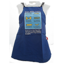 Edward Monkton Your Inner Pasta Funny Cartoon Apron