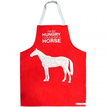 Hilarious Horse Meat Novelty Cooking Apron