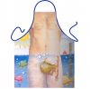 Fishy Friend Rude Mens Novelty Apron