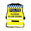 Slow Down High Visibility Equine Safety Tabard