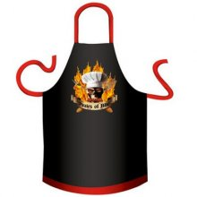 Pirates of BBQ Cotton Novelty Apron