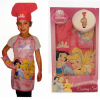 Disney Princess in Pink Girls Baking Outfit
