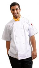 Premium Plain Double Breasted Chef Jacket