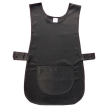 Premium Black Durable Uniform Apron Tabard
