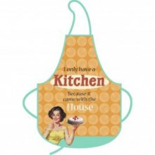 Kitchen Came With The House Vintages Ladies Apron