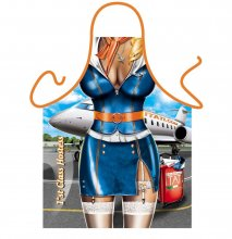 Naughty Air Hostess Sexy Ladies Funny Apron