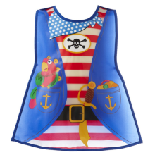 Kids Fun Wipe Clean Pirate Playtime Tabard