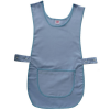 Basic Light Blue Coloured Work Tabard With Pocket