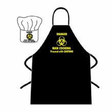 Danger Man Cooking Novelty Chef Set