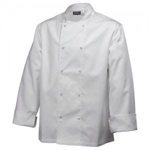Double Breasted Chefs Studded Protective Cooking Jacket