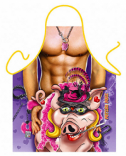 Pig Lover Weird Polyester Novelty Apron