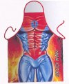 Super Spicy Man Kitchen Hero Novelty Apron