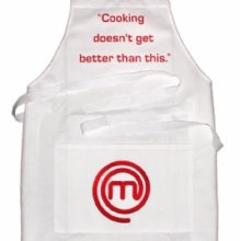 Masterchef Official White Cooking Apron