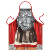 Roman Gladiator in Armour Funny Apron