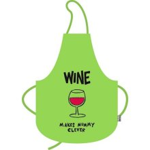 Wine Makes Mummy Clever Funny Cooking Apron