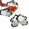 Novelty Gaming Pixel Hands Oven Gloves