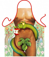 Naked Adam Garden of Eden Saucy Apron