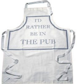 Just for Men: I'd Rather be in the Pub Apron
