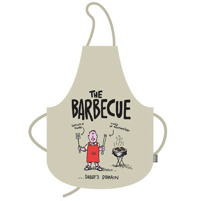 Daddys Doing The BBQ Apron