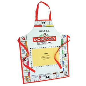 Official Monopoly Novelty Cotton Apron