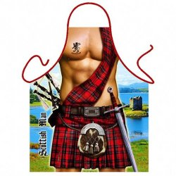 Sexy Scotsman Mens Novelty Kilt Apron