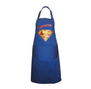 Super Chef Novelty Superman Style Apron