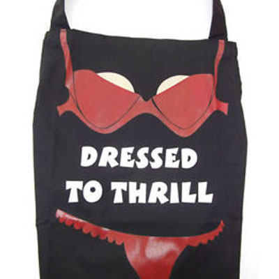 The Dressed To Grill Funny Kitchen Apron