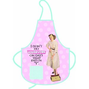 Vintage Dont Do Housework Pin Up Ladies Apron