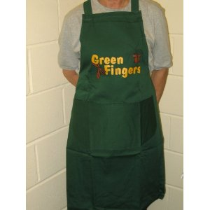 Green Fingers Gardening Garden Apron With Front Pockets